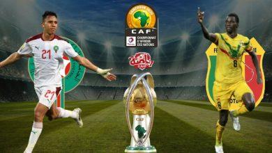 صورة ملخص مباراة المغرب ومالي في نهائي أمم إفريقيا للمحليين