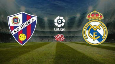 صورة بث مباشر لمباراة ريال مدريد وهويسكا