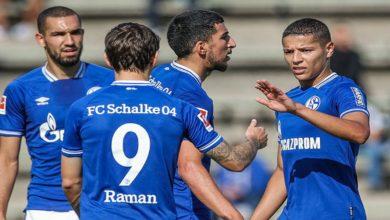 صورة رسميا.. شالكه يعلن إصابة لاعبه المغربي على مستوى أربطة الركبة