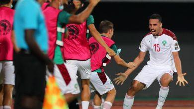 صورة المنتخب المغربي ينهي الشوط الأول متقدما على الكاميرون بثنائية -فيديو