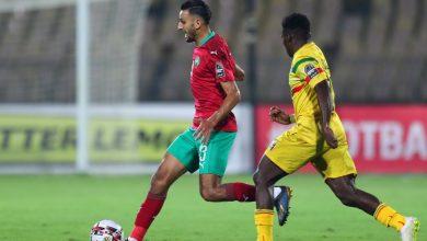 صورة التعادل السلبي يحسم الشوط الأول من مباراة المغرب ومالي