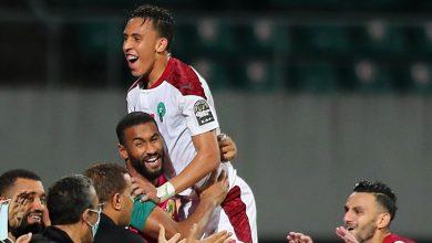 """صورة برباعية بيضاء.. المنتخب المغربي يتأهل لنهائي """"الشان"""" على حساب الكاميرون -فيديو"""