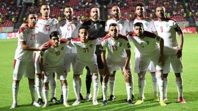 """صورة لاعبان مغربيان في التشكيلة المثالية لدور مجموعات """"الشان"""""""