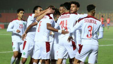 صورة ملخص مباراة المغرب وغامبيا في كأس إفريقيا للشباب