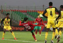 صورة في مباراة الفرص الضائعة.. المنتخب المغربي للشباب يسقط في فخ التعادل أمام غانا -فيديو
