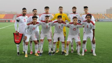 """صورة في مباراة """"خاصة"""".. المنتخب المغربي للشباب يتعرف على خصمه في دور ربع نهائي أمم إفريقيا"""