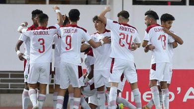 صورة تشكيلة المنتخب المغربي للشباب أمام تونس
