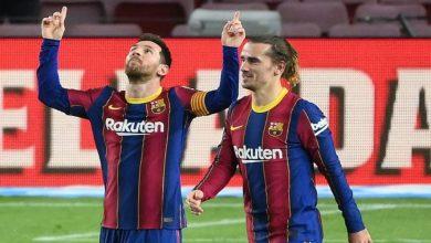 صورة ميسي يواصل تحطيم الأرقام القياسية رفقة برشلونة منها رقم رونالدو
