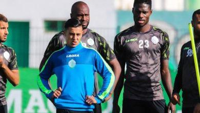 صورة لاعب الرجاء الرياضي يوقع في صفوف المغرب التطواني -صورة