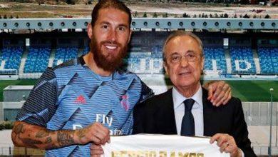 صورة انفراج في ملف تجديد عقد راموس مع ريال مدريد