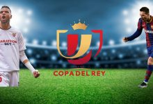 صورة الموعد والقنوات الناقلة لمباراة برشلونة وإشبيلية في كأس ملك إسبانيا