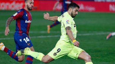 صورة أتلتيكو مدريد يسقط في فخ التعادل أمام ليفانتي في مؤجل الليغا -فيديو