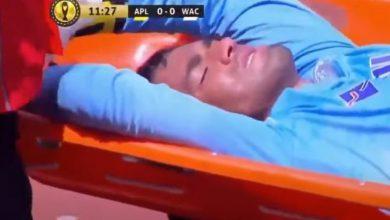 صورة الوداد يتلقى ضربة موجعة بعد إصابة التكناوتي في مباراة بيترو أتليتكو