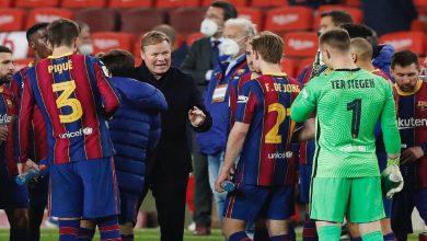صورة غيابات بالجملة في قائمة برشلونة لمواجهة أوساسونا