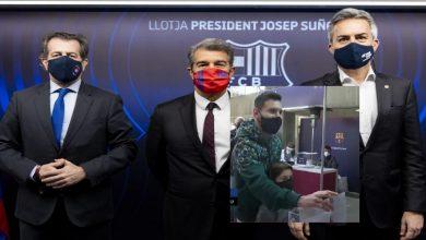 صورة ميسي يدلي بصوته.. انطلاق انتخابات رئاسة برشلونة وتحديد موعد الكشف عن الفائز