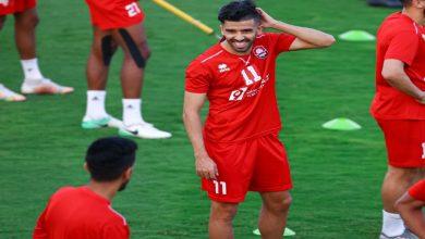 صورة البركاوي يسجل هدفا رائعا في شباك زملاء الأحمدي ويهدي فريقه نقطة التعادل -فيديو