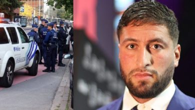 صورة الشرطة البلجيكية تُلقي القبض على جمال بن صديق