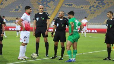 """صورة حكم مباراة """"الديربي"""" بين الوداد الرياضي الرجاء الرياضي"""