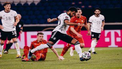 صورة في مفاجأة كبيرة.. ألمانيا تنقاد للخسارة أمام مقدونيا الشمالية في تصفيات المونديال -فيديو