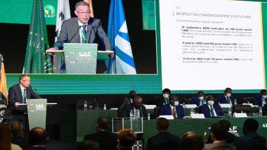 """صورة لقجع يدق ناقوس الخطر بخصوص الوضعية المالية للـ""""كاف"""""""