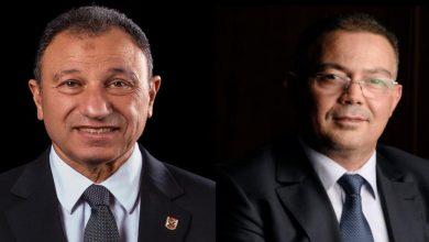 """صورة الأهلي المصري يهنئ لقجع بعد فوزه بعضوية الـ""""فيفا"""""""
