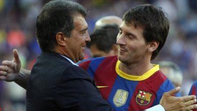 صورة هذه خطة لابورتا رئيس برشلونة الجديد من أجل إقناع ميسي بالبقاء