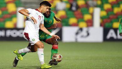 صورة ملخص مباراة موريتانيا والمغرب