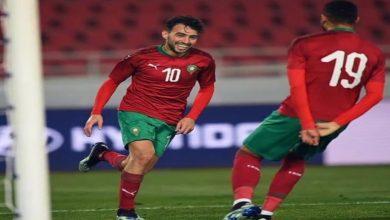 صورة هدف الحدادي يَقُود المنتخب المغربي لتحقيق الانتصار على بوروندي -فيديو
