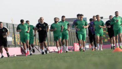 صورة المنتخب المغربي يجري حصته التدريبية الأولى في موريتانيا
