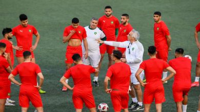 صورة المنتخب المغربي ينهي حصته التدريبية قبل مواجهة موريتانيا