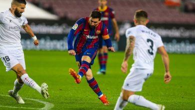 """صورة ميسي يواصل كتابة التاريخ رفقة برشلونة ويحقق رقما قياسيا في """"الليغا"""""""