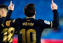صورة يرفع إصبعيه إلى السماء.. قصة حزينة وراء احتفال ميسي بأهدافه