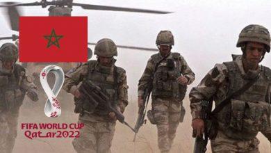"""صورة إلى جانب """"أمريكا"""" ودول أخرى.. الجيش المغربي يُشارك في مناورات عسكرية استعدادا لتأمين مونديال قطر 2022- فيديو"""