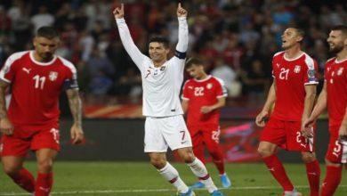 صورة الموعد والقنوات الناقلة لمباراة صربيا والبرتغال في تصفيات مونديال قطر