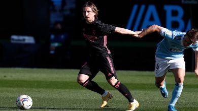 صورة ملخص مباراة ريال مدريد وسيلتا فيغو