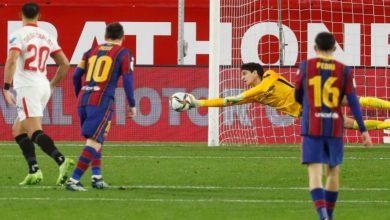 صورة مفاجآت في تشكيلة إشبيلية وبرشلونة ضمن كأس ملك إسبانيا