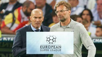"""صورة دوري """"السوبر الأوروبي"""" يهدد استمرار مدرب بارز مع فريقه"""