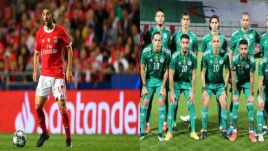 صورة نجم المنتخب الجزائري يكيل المديح لعادل تاعرابت