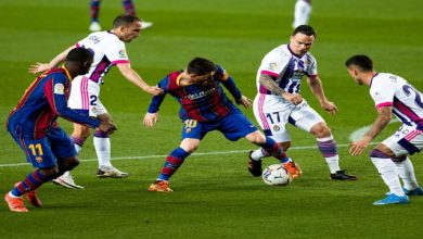 صورة برشلونة يسلم من فخ بلد الوليد بانتصار صعب ويقلص الفارق إلى نقطة واحدة مع المتصدر-فيديو