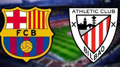 صورة البث المباشر لنهائي كأس إسبانيا بين برشلونة وأتليتك بيلباو