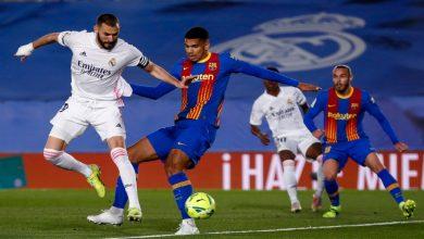 صورة ملخص مباراة الكلاسيكو بين ريال مدريد وبرشلونة