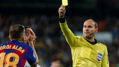 صورة رسميا.. تغيير حكم مباراة الكلاسيكو بين ريال مدريد وبرشلونة