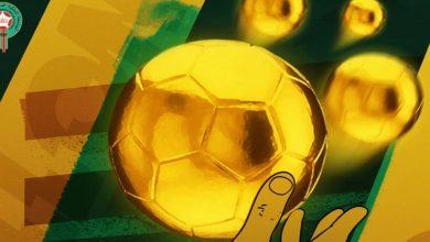 """صورة إطلاق جائزة """"الكرة الذهبية"""" لأفضل لاعب مغربي"""