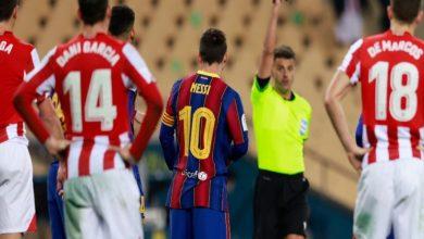 """صورة لاعب أتليتك بيلباو متحديا برشلونة: """"سنرفع كأس الملك لأن طموحنا ضِعْفُ طموحهم"""""""