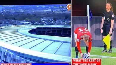 صورة قناة إيرانية تقطع بث قمة في الدوري الإنجليزي لأزيد من 100 مرة بسبب الحكم المساعد- صور