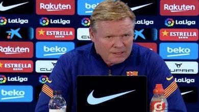 صورة بين البقاء والرحيل.. كومان يحدد مستقبله مع برشلونة