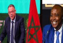 """صورة رئيس الـ""""كاف"""" يقوم بزيارة للمغرب ويعقد لقاءً مع فوزي لقجع"""