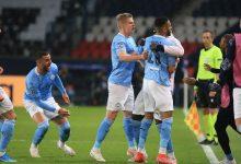 صورة ملخص مباراة باريس سان جيرمان ومانشستر سيتي
