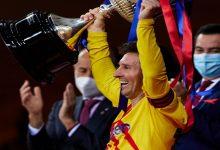 صورة ميسي يفصح عن شعوره بتحقيق كأس إسبانيا ويلمح لمصيره مع الفريق