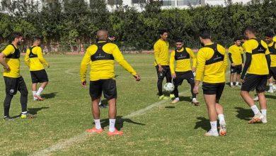 صورة بيراميدز يجري أول حصة تدريبية بالمغرب